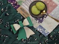 手工皮具 // 新手也可以做出美美的成品之 LUNA 蝴蝶结水桶包材料包