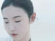 M.Q奎妮小姐 /天空之城/银色雾面处理天然水滴珍珠