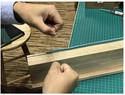 双波浪缝线十种技法详解(品品轻奢手工皮具作坊原创视频)