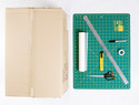 瓦楞纸+硫酸纸,在家制作无影柔光摄影箱(摄影棚)DIY手工教程