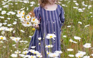 爸爸的衬衣,女儿的裙子——衬衫diy变裙记