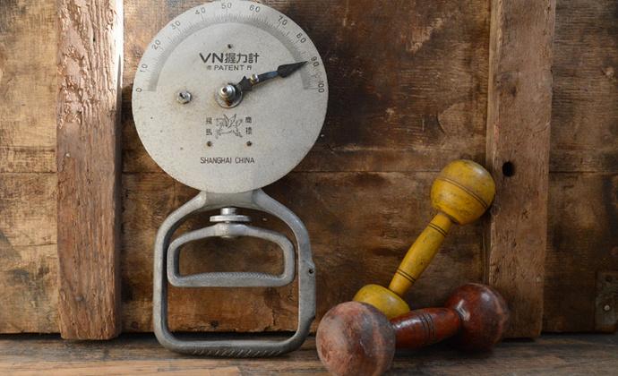 vintage老杂货 老握力器
