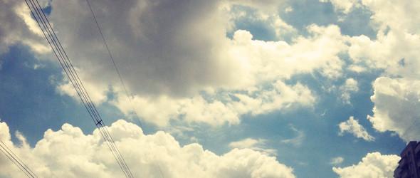 今日的天空