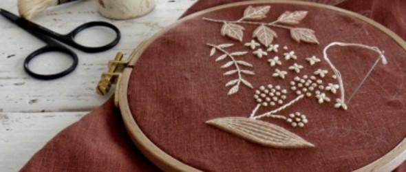 日本刺绣艺术家 樋口愉美子 的最新作品