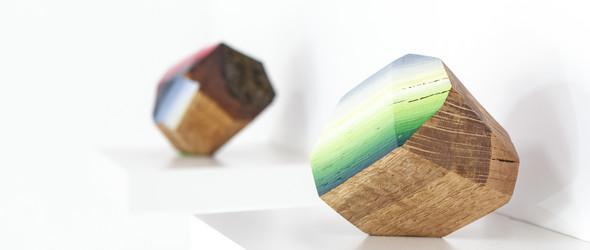 当木纹遇到彩虹,谁说木头不会发光? | Victoria Wagner