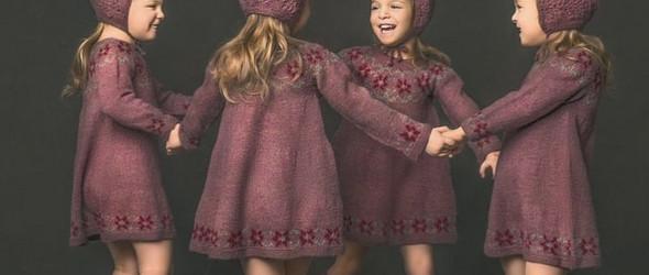 可爱的孩童与温暖的毛衣 |Christine Dubin