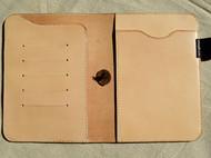 【胡畔手作】手工植鞣革笔记本封套