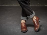 2016新款秋季男士系带真皮复古潮鞋英伦布洛克雕花皮鞋子男鞋