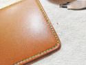 皮革手工缝线教学:爱马仕双波浪针法教程