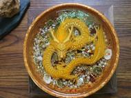 黄金盘龙宝盆
