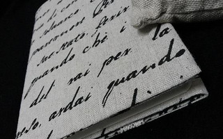 最简单的布书衣五步教程(以纸划线说明)