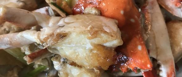秋冬时令美味 | 姜葱炒蟹