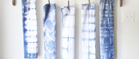 靛蓝扎染的几种常见方法
