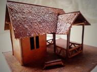 牛皮茅草屋