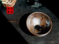 传统龙窑柴烧全手工矿物釉粗陶茶杯