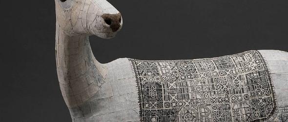陶瓷动物雕塑 - Susan O'Byrne