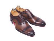 北京高端定制皮鞋,角度订制量脚订制手工男士皮鞋
