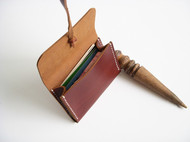 原创 手缝 头层牛皮 卡片包 零钱包