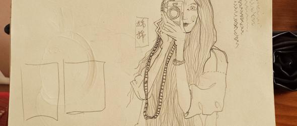 木棉计的模特,全新手绘~