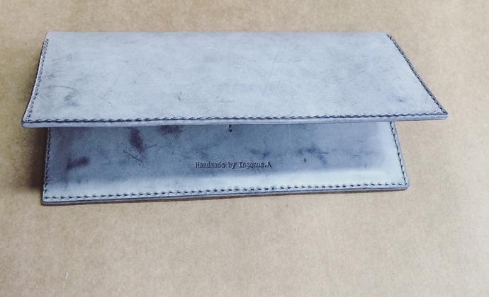 【Ingenue.A】第四课 植鞣革长钱夹 材料包