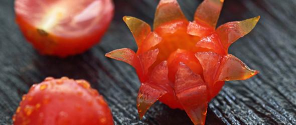 英国摄影师ilian的蔬菜水果雕塑艺术