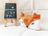 【原创手工定制】小狐狸零钱包/卡包