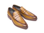 定做男士休闲皮鞋,角度订制手工皮鞋