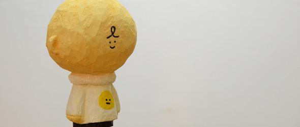 BUN:可爱呆萌的木雕玩偶