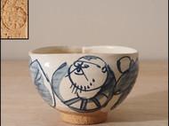 【京烧陶碗】日本传统正宗京烧陶碗 可爱精致日式和风餐具 海外包邮直邮