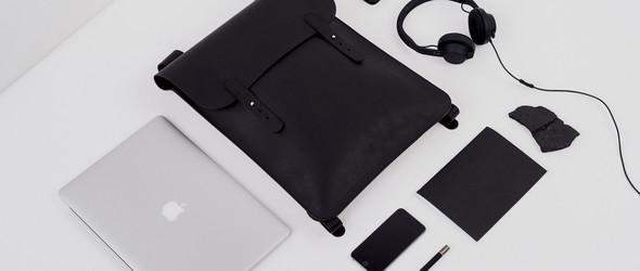 PURITAAN | 极简主义风格的黑色苹果产品包