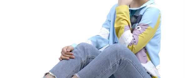 konke抽象人物衬衫设计