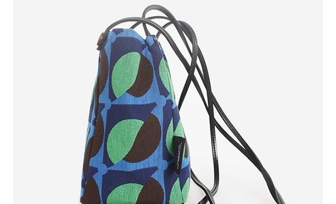 大脑布独立设计小众水桶包女斜挎布包单肩帆布复古包港风迷你小包