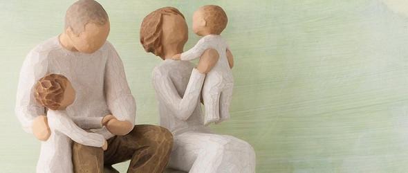 没有面孔的天使雕塑,却充满了爱与亲密的味道 | Willow Tree