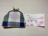 樱花口金包