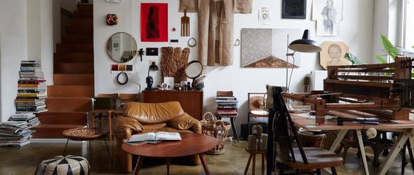 比利时设计师Jan Jan van Essche 的三合一工作室及作品