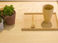 梵瀚 竹木创意 马克杯咖啡杯 欧式简约花茶杯牛奶杯子 夏季水杯