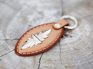 集点手作坊 枥木鞍革钥匙扣