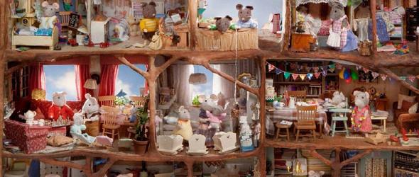 老鼠公馆(Het Muizenhuis):为老鼠们制作的大型微缩生活场景