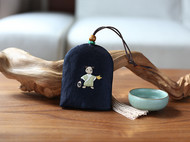 花暖 原创设计 手工刺绣 十二生肖钥匙包民族风配饰中国风礼物 狗