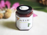 【小C的纯手工果酱】自制无添加 草莓果酱 果肉果粒面包抹酱酸奶