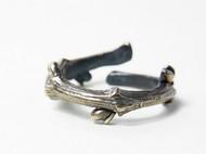 【新蕾。序】独立设计 手工 氧化银做旧款 藤状树枝戒指 可作对戒