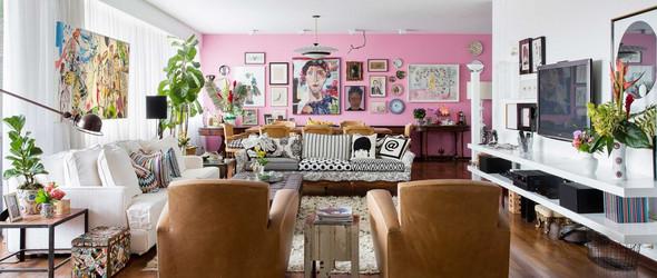 即使无法拥有,但也不妨碍欣赏:探访巴西珠宝设计师 Brenda Vidal 波西米亚风格的公寓