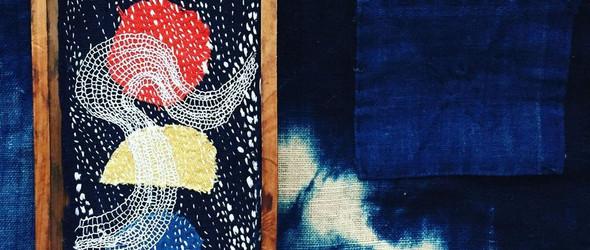 拼布与刺子绣组成的独特纺织艺术 | @lindzeanne