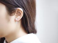 925纯银时尚百搭贝珠流苏耳环首饰 银饰品