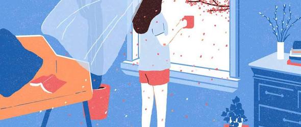 一个人的悠闲时刻 | 韩国插画师 Junghyeon Kwon 作品