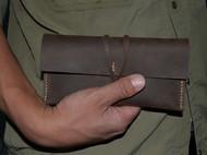 复古风 头层疯马皮收纳包 钱包 钱夹 手机包 杂物包 笔袋收纳