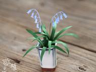 纸艺铃铛花们——铃兰、蓝铃花和岩须