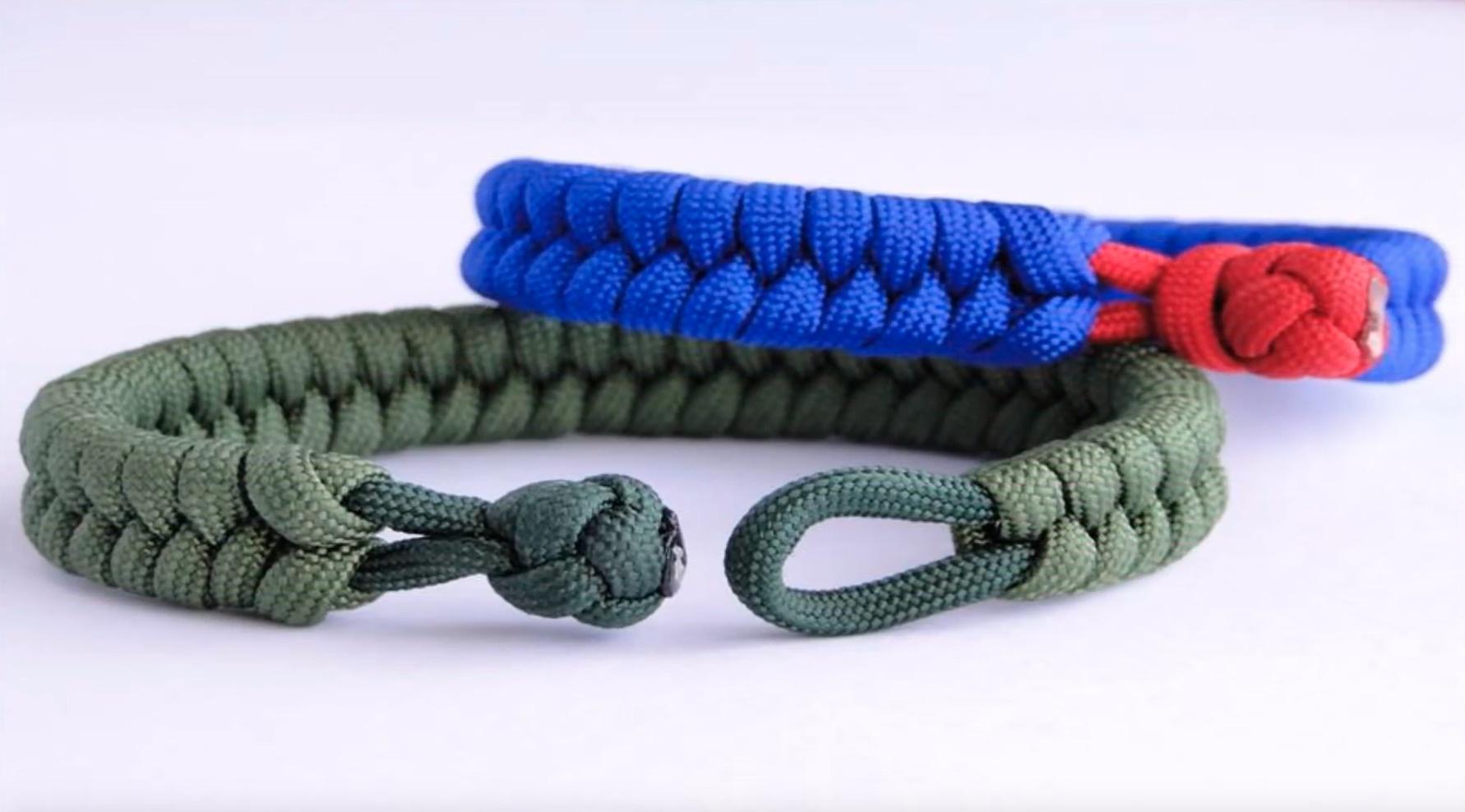手工编织 | 绳编手链(手镯)视频教程
