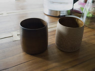 大漆竹胎水杯/杯子