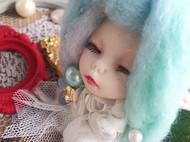 【莲田水生】又一枚羊毛毡胸针~~透羽酱~